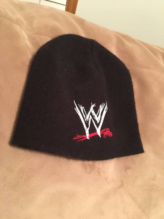 Vintage WWE Logo Winter Cap Size one size - Hats for Sale - Grailed c7703ff2f44