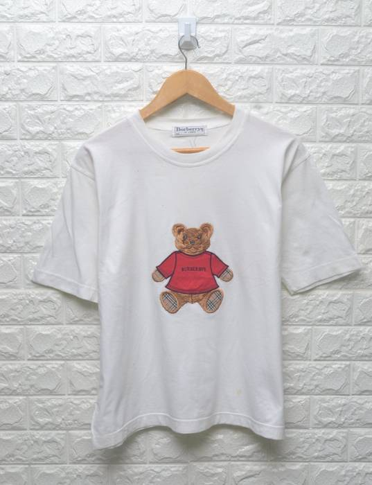 f3aa093dbf3 Burberry Vintage Burberry of London 90s embroidery bear polo bear ...