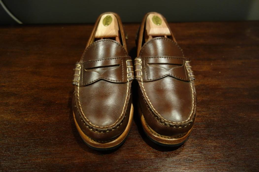 526c530445 Rancourt   Co. Brown Beefroll Penny Loafer Size 6.5 - Formal Shoes ...