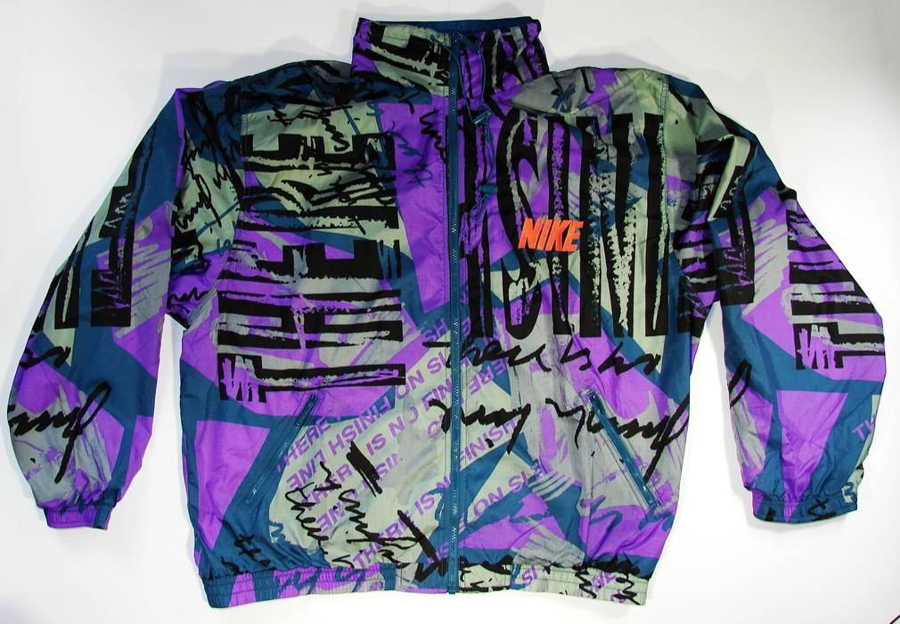 69c4ffa058 Nike Nike Windbreaker Vintage Sports Jacket 90s Multi-Color Size XXL Good  Condition 🔥 Final