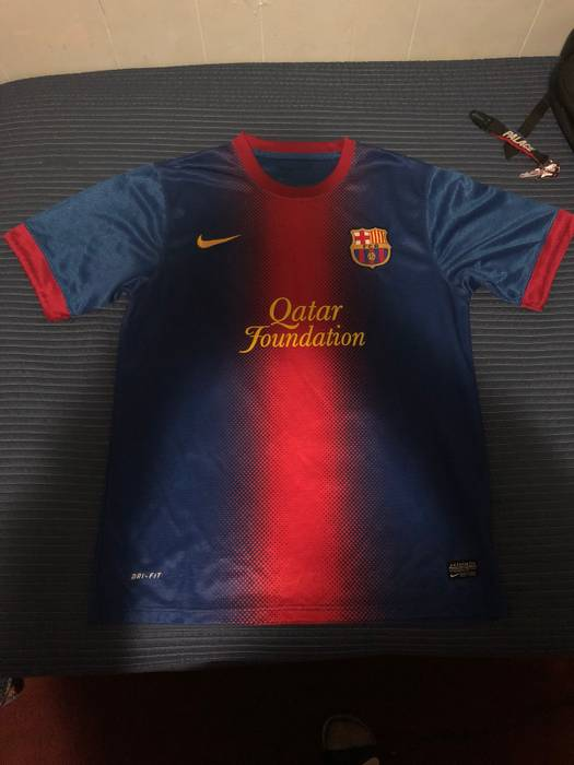 Nike 2012-13 Home FC Barcelona Size l - Long Sleeve T-Shirts for ... b6fe77816