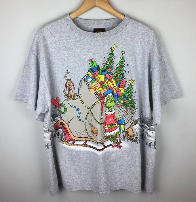 Vintage. 2001 Grinch Who Stole Christmas Double Sided T Shirt. Size  US L  ... c23ee26d8