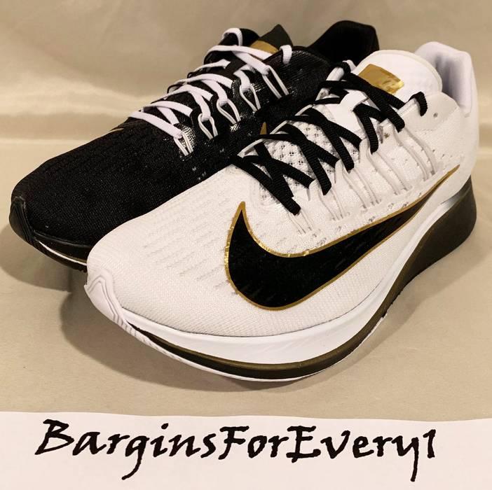 99b51abf6cd1 Nike New Nike Zoom Fly (Mismatched) - Size 7 - Black White-Metallic ...