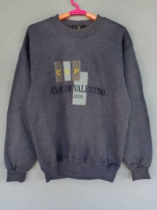 ac3a1529b3f9 Valentino Claudio Valentino Sweatshirt Embroidery Big Logo. Not ...