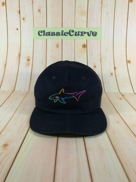 Greg Norman. Vintage Greg Norman Cap Strapback Adjustable Cap Black ... 51bbaf40f0ce