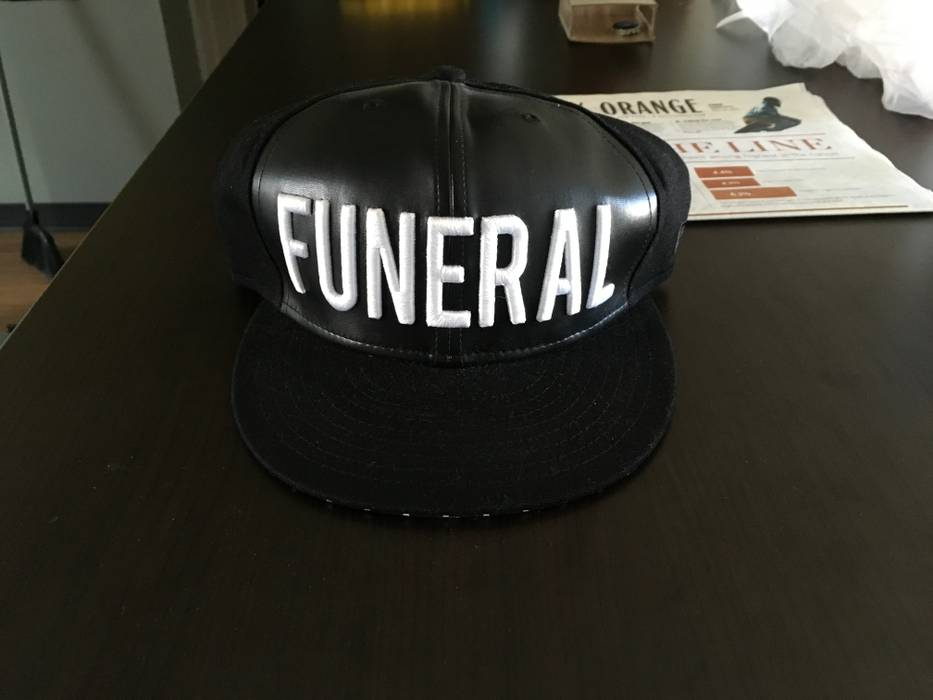 Black Scale Funeral SnapBack Size one size - Hats for Sale - Grailed f087dcbc90f