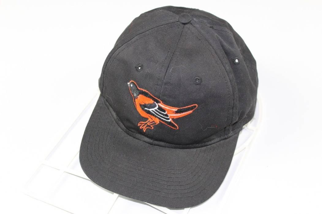 5549331331c Vintage. Vintage 90s Baltimore Orioles MLB Classic Logo Adjustable Snapback  Hat Cap Black