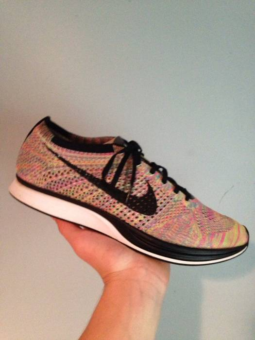 1ca8db3ecd65 Nike Nike Multicolor Flyknit Racers Size 12 - Low-Top Sneakers for ...