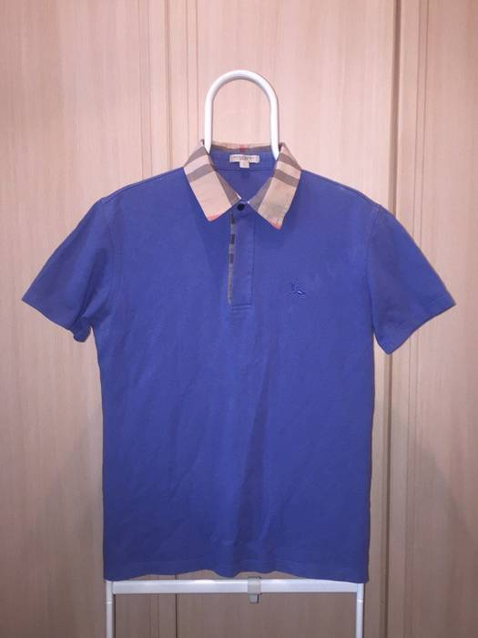 dae08b41a4f Burberry Burberry Brit Men Polo Shirt Size l - Polos for Sale - Grailed