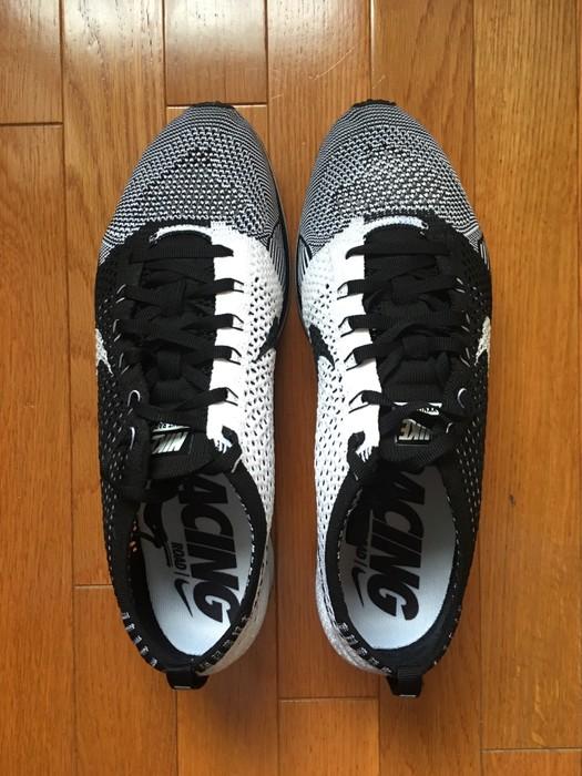 59c52088655f Nike Nike Flyknit Racer Black Tongue