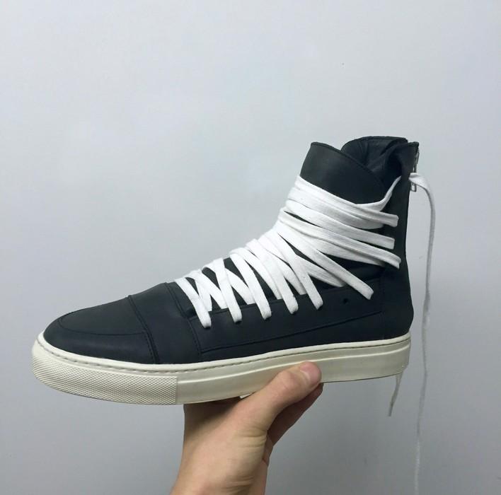 a4df7ce822150a Kris Van Assche KVA high multi lace trainers Size 10.5 - Hi-Top ...