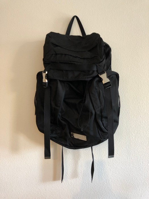 6be09a4bba73 Undercover Black Prada Style Utility Backpack Size one size - Bags ...