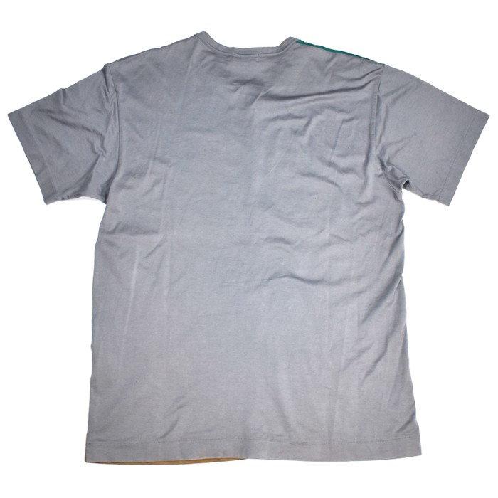 95b25befbfcb Comme des Garcons 1995 CDG Mirror Logo Color Block T-Shirt Size US M