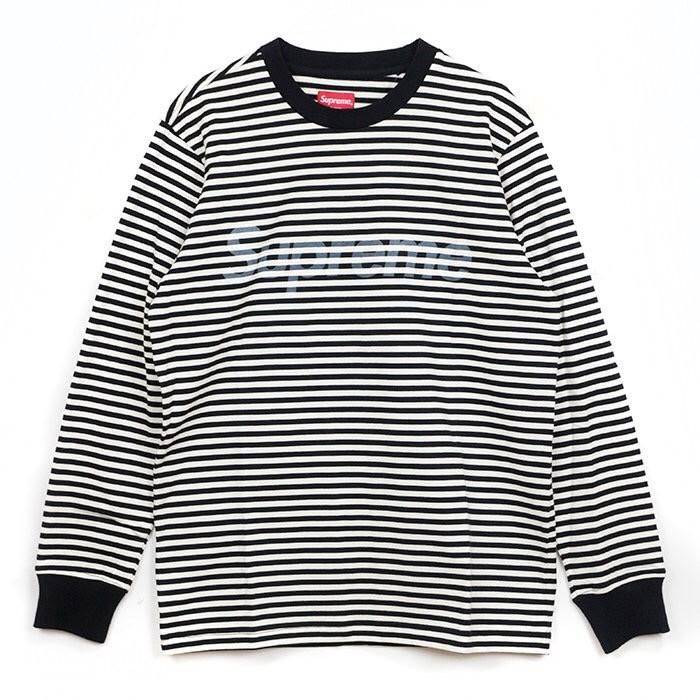 Supreme Striped Long Sleeve Size Us L Eu 52 54 3