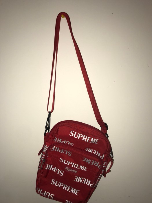 Supreme 3m All Over Print Side Bag