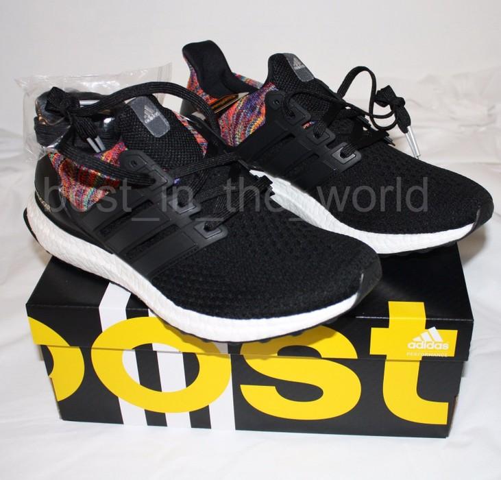 e9d82f3f67555 Adidas Mi Adidas Ultra Boost 2.0 Rainbow BY1756 Size 9.5 - Low-Top ...
