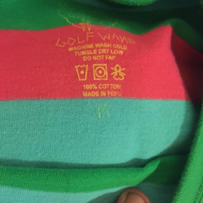 1b9140bce4d8ac Golf Wang Golf Wang Watermelon Stripe Size m - Short Sleeve T-Shirts ...