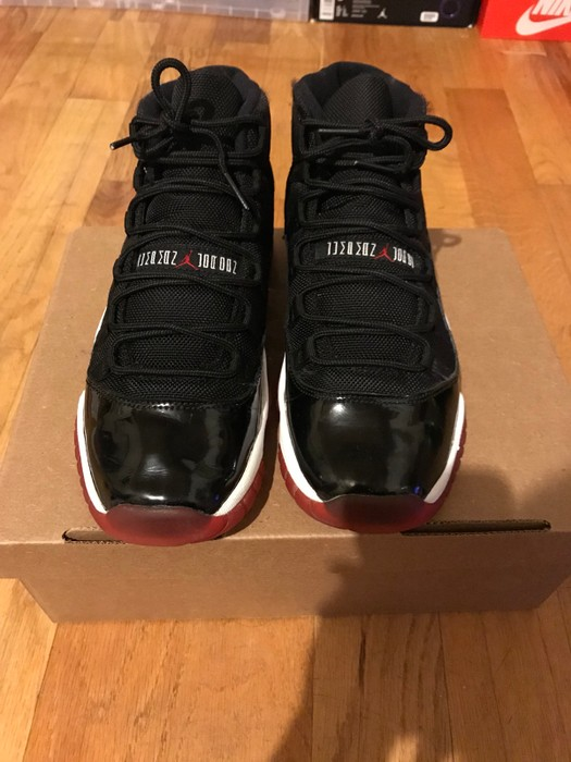1547880ba6d9 Nike Jordan 11 Bred. Preowned. Size 7 Size 7 - Hi-Top Sneakers for ...