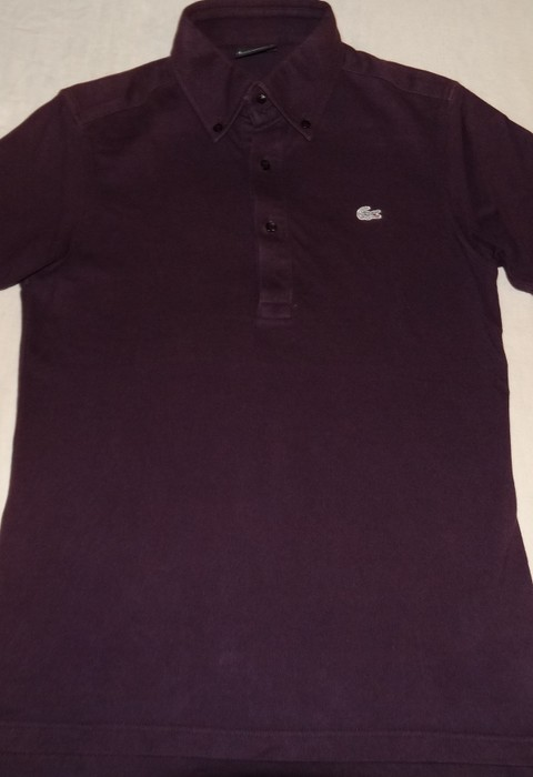4744711b8c49c4 Lacoste Lacoste x beams exclusive Burgundy polo size S limited edition Size  US S   EU