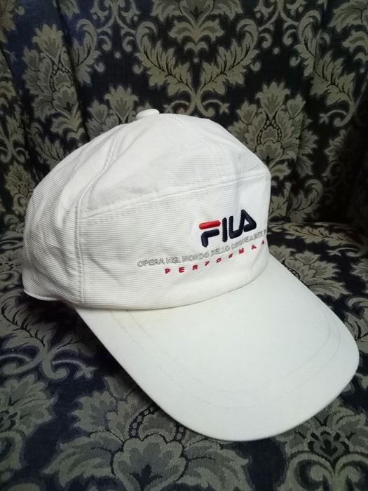 a353b327e8c Fila. AUTHENTIC Fila Cap Classic rare adjustable urban casual hip hop rap  streetwear hat cap free size ...