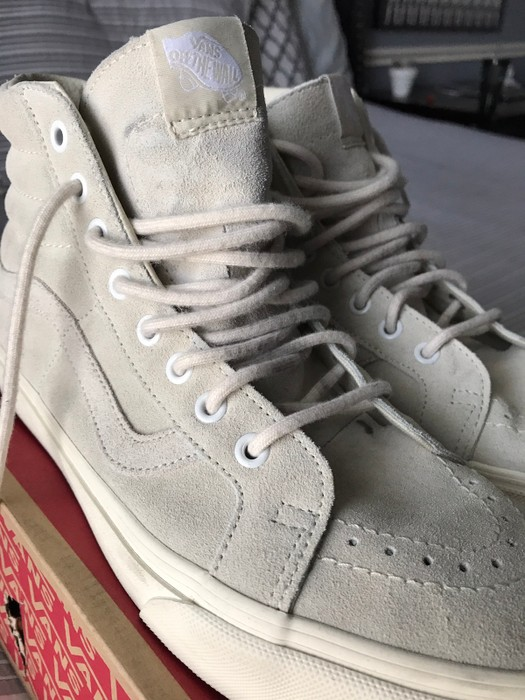 3e6c8a79d1cc72 J.Crew Sk8-Hi x J.Crew Size 10.5 - Hi-Top Sneakers for Sale - Grailed