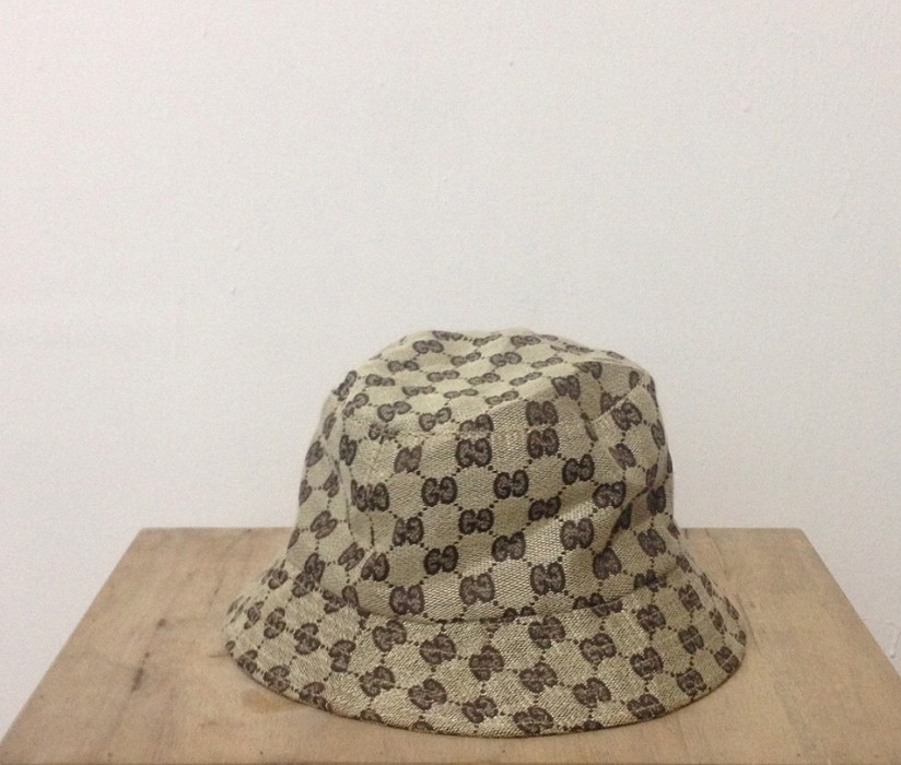 6db0c4a0ee7 Gucci. Vintage Gucci Monogram Bucket Hat made in italy not louis vuitton  fendi chanel balenciaga givenchy balmain saint laurent. Size  ONE SIZE