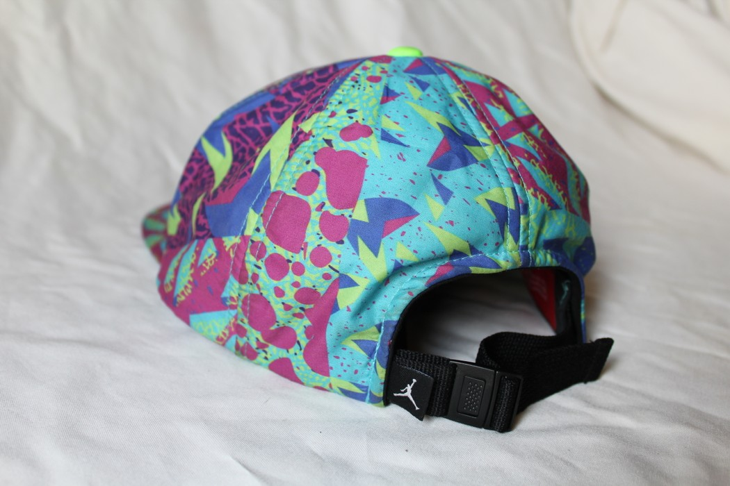 654e845f6aa Jordan Brand rare Nike Air Jordan Retro Bel Air Fresh Prince 5 Panel  Adjustable Hat 576582