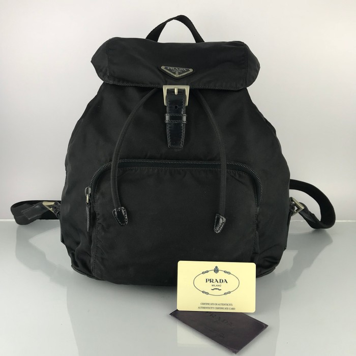 32c140460064 Prada Authentic Vintage Prada Nylon Backpack Bag Size one size ...