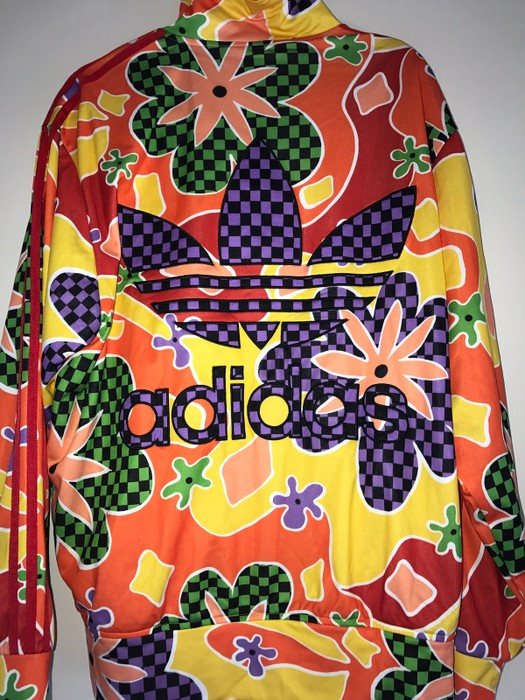 b5357a076dcc Adidas Adidas x Jeremy Scott Floral Track Jacket Size US XL   EU 56   4
