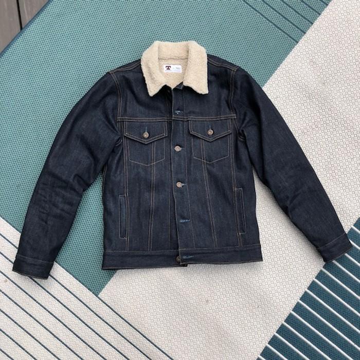 b5d7af43fa Tellason Sherpa Lined Denim Jacket Size s - Denim Jackets for Sale ...
