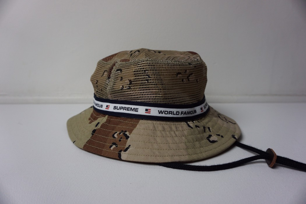c7706a31bf061 Supreme Supreme Desert Camo Crusher Bucket Hat Size one size - Hats ...
