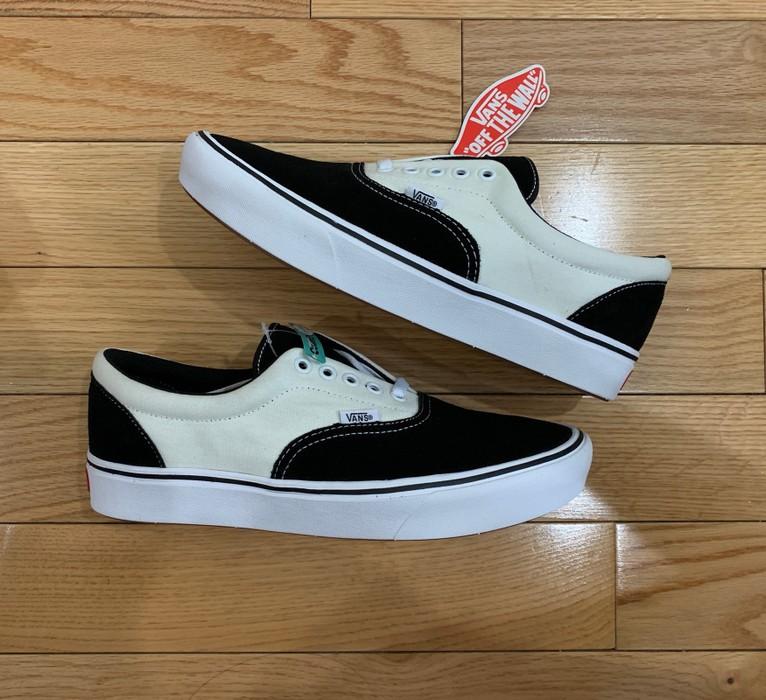 d1047af7044166 Vans Vans Era Black Cream Comfy Cush Size 10 - Low-Top Sneakers for ...