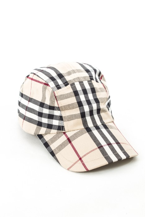 39134594bb4 Burberry BURBERRY LONDON RARE MENS 5 PANEL BASEBALL CAP HAT NOVA CHECK  PLAID ONE SIZE Size