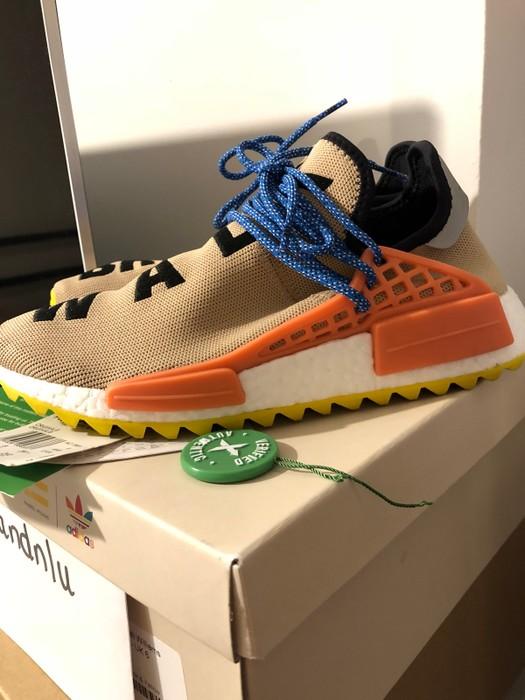 fc76160f1 Adidas Adidas Human Race NMD Pharrell Pale Nude 6.5 Size US 6.5   EU 39-