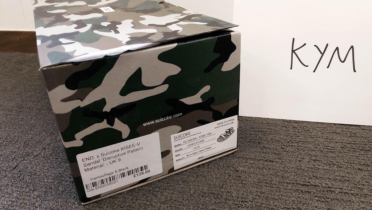 40ccb8bf0323 Suicoke Suicoke x END. Special Edition KISEE-V Sandal Size US 10   EU