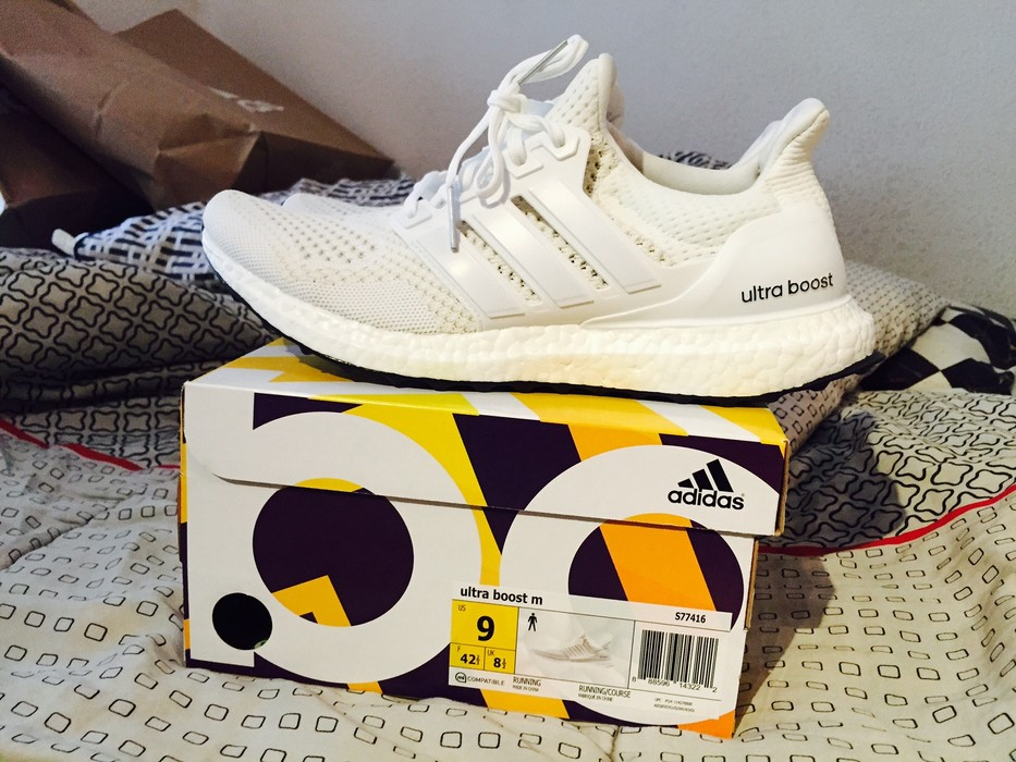 4c7c9bec5 Adidas Ultra Boost OG white 1.0 Size 9 - Hi-Top Sneakers for Sale ...