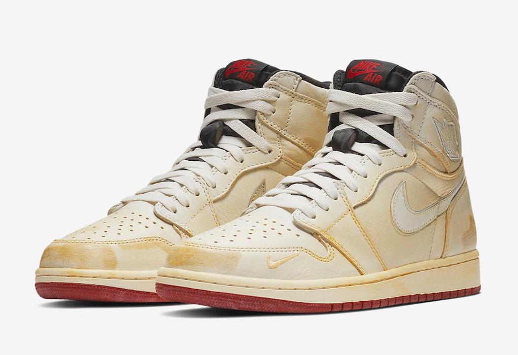 92550bd1ff9d Nike Air Jordan 1 Hi OG NRG - Nigel Sylvester - Sail White Size 9.5 ...