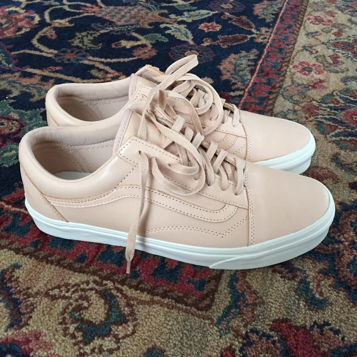 6226bed9ba6c Vans Old Skool DX Vachetta Veggie Tan Leather Sold Out Size 9.5 ...