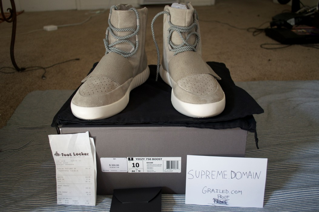 6de81bf28c42 Adidas Yeezy 750 Boost Size 10 - for Sale - Grailed