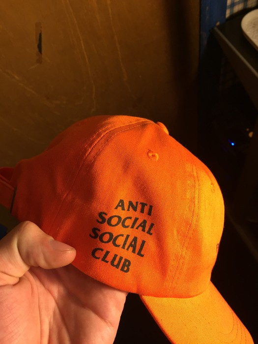 19549551fd032 Undefeated UNDFTD x Anti Social Social Club Paranoid Dad Hat Size ONE SIZE  - 1