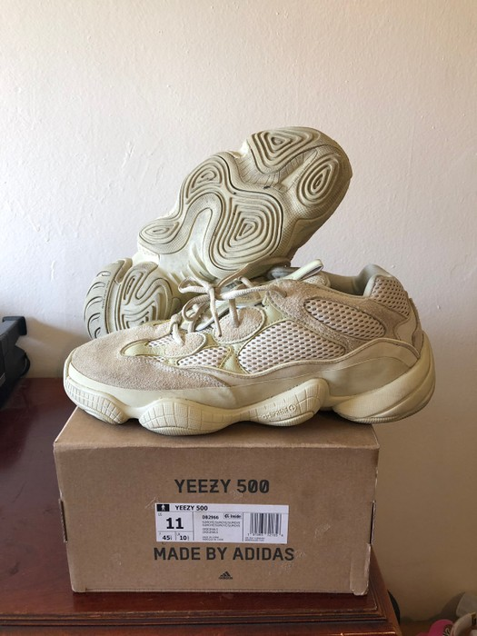 154c09a67b0b0 Adidas Kanye West Yeezy 500 Super Moon Yellow Size 11 - Low-Top ...