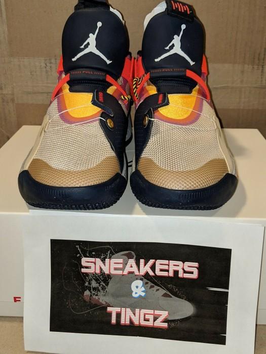 ac9cd673267ff4 Nike AIR JORDAN XXXIII 33 VISIBLE UTILITY Size 9.5 - Hi-Top Sneakers ...