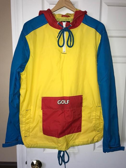 c0e881d520e373 Golf Wang Tri Color Windbreaker Size m - Sweatshirts   Hoodies for ...