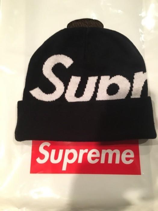 016586a92bdd1 Supreme Supreme Big Logo Beanie