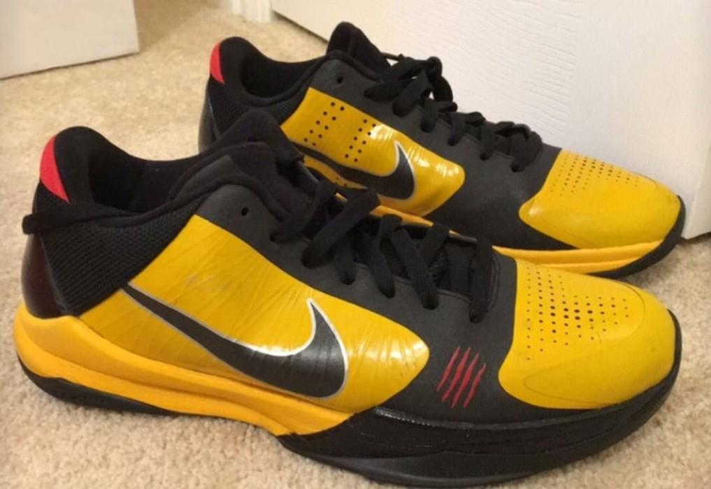 """detailed look 5ab04 4f02b Nike Nike Kobe 5 """"Bruce Lee"""" Size US 9.5   EU 42-43"""