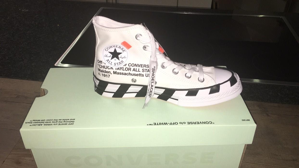 a67896b2d202 Off-White Converse X Off-White Chuck 70 High Top US5.5 Size 6 - Hi ...