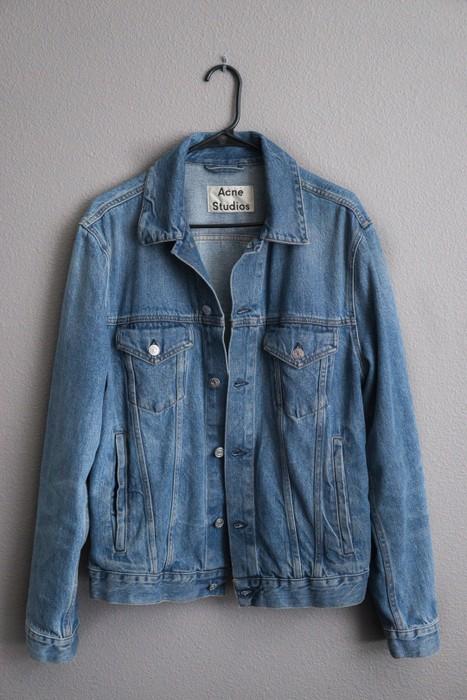 43deae28b1 Acne Studios Acne Studios PAW16 Beat Mid VTG Denim Jacket Size US M   EU 48