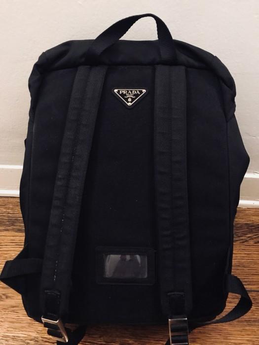 0457bc2fa4f1 Prada Prada Tessuto Drawstring Backpack Size one size - Bags ...