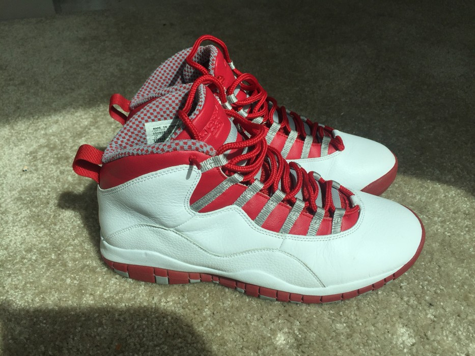 3c685270ef3c Nike Air Jordan 10 X Retro Red Steel Size 11 Size 11 - Low-Top ...