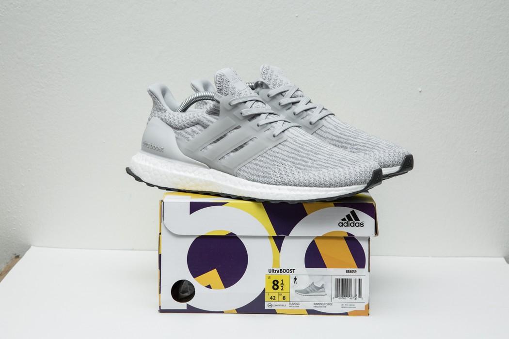 1de1d90dd0d85 Adidas Brand New Adidas Men Ultra Boost 3.0 Clear Grey - Mens 8.5 BB6059  Size US